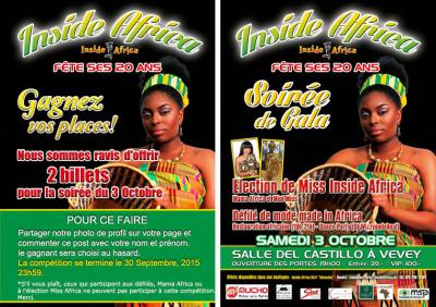 Inside Africa 20th Anniversary Flyer