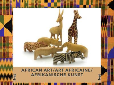 African Hand Carved Art Pieces