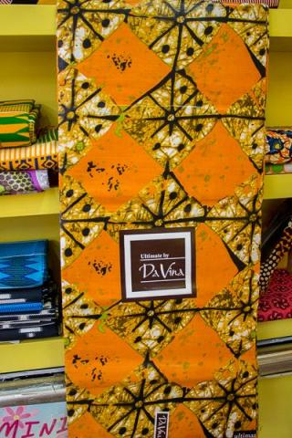 African wax printed cloth